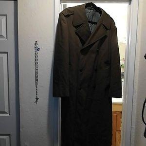 Vintage Marine Corps Wool Longcoat, EUC